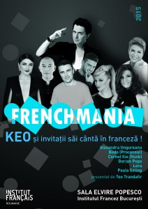 Affiche officielle FRENCHMANIA 2015